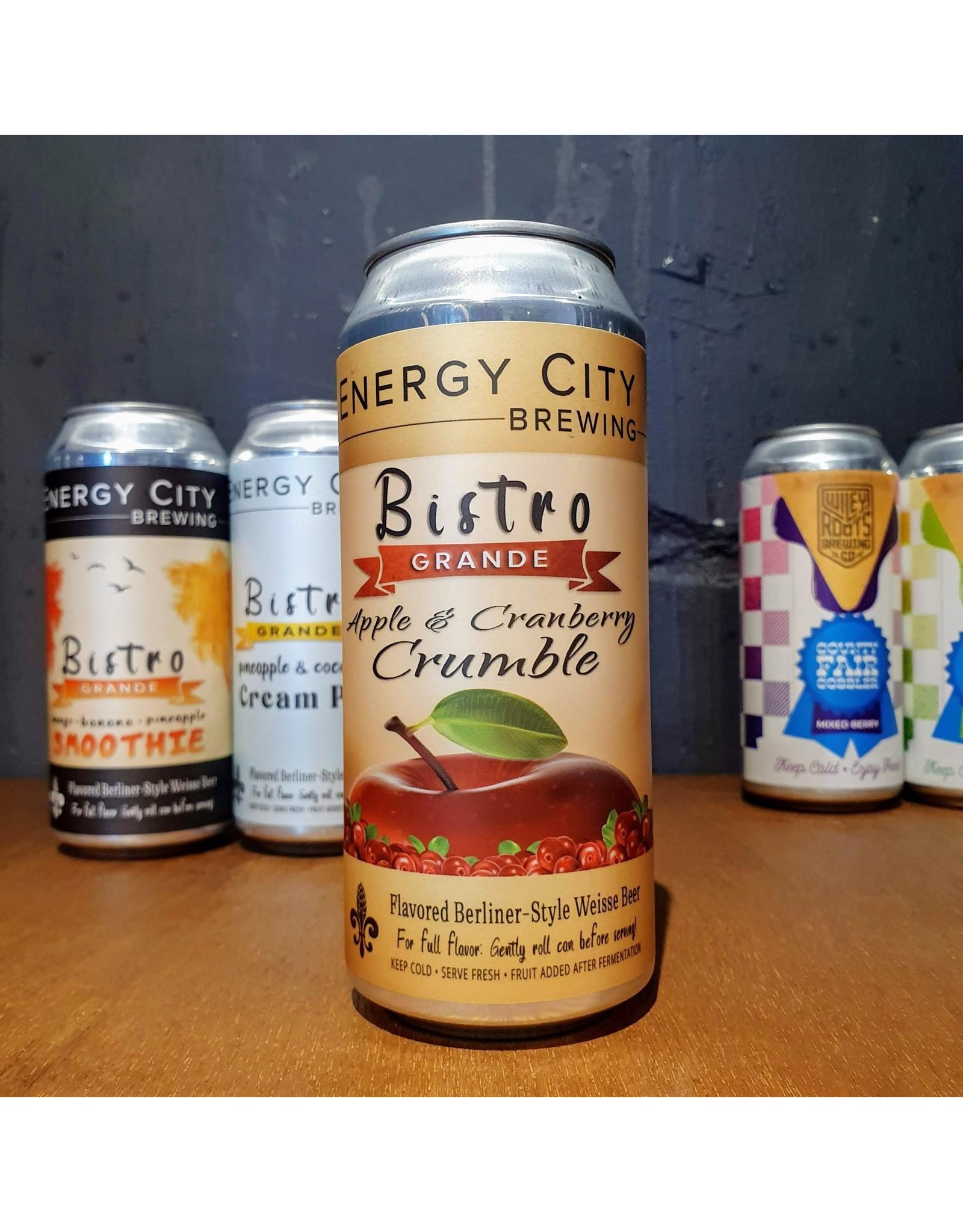 Energy City BC Energy City BC: Bistro Grande - Apple & Cranberry Crumble