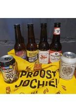 Tasje Utrechts bier 'PROOST JOCHIE'
