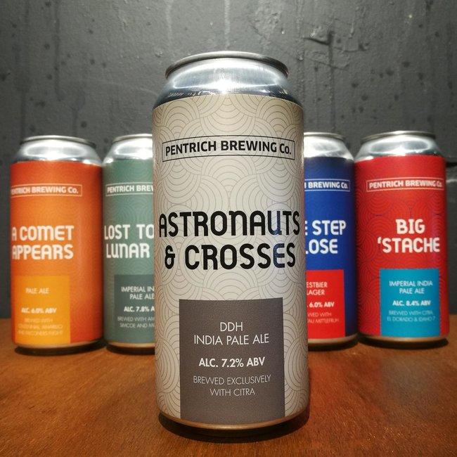 Pentrich Brewing Co: Astronauts & Crosses