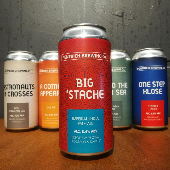Pentrich Brewing Co: Big 'Stache
