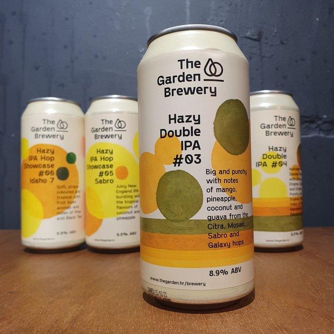 The Garden Brewery - Hazy DIPA #03