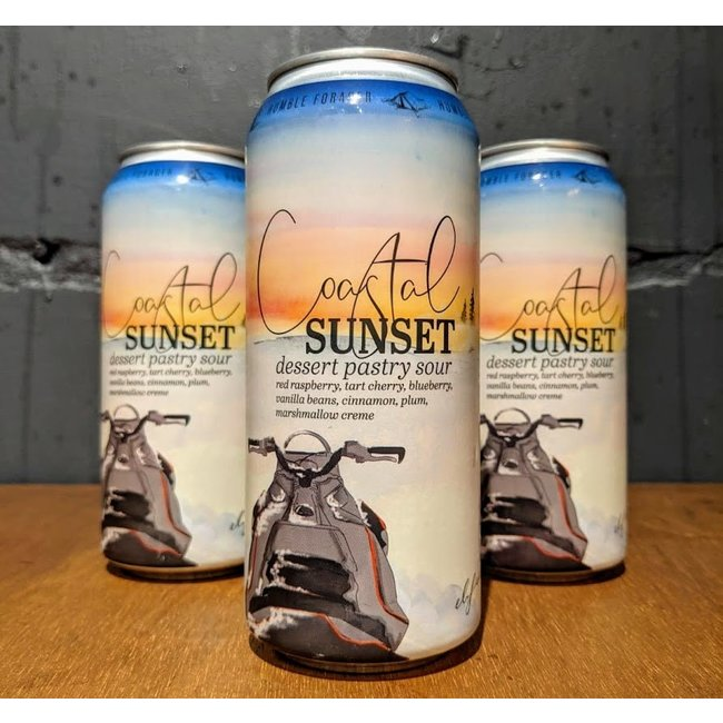 Humble Forager Brewery: Coastal Sunset #3