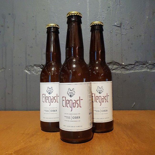 Elegast: Farmhouse Saison Cider (hard cider)