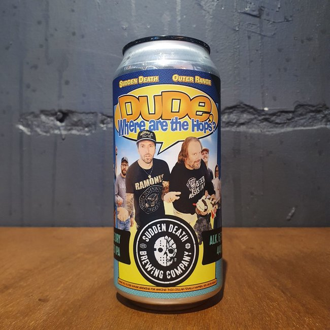Sudden Death - Dude, Where Are The Hops?