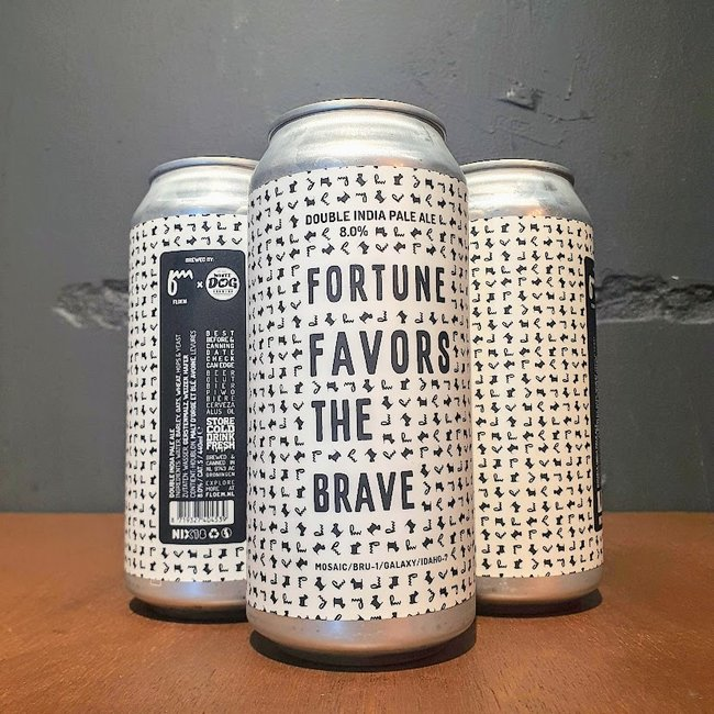 Floem x White Dog: Fortune favors the brave