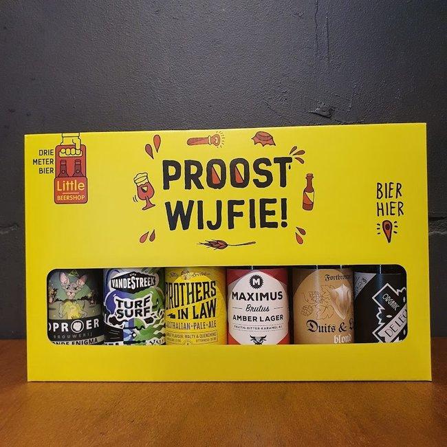 Utrecht Bierpakket 'PROOST WIJFIE'