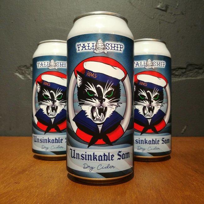 Tall Ship Craft Cider: Unsinkable Sam