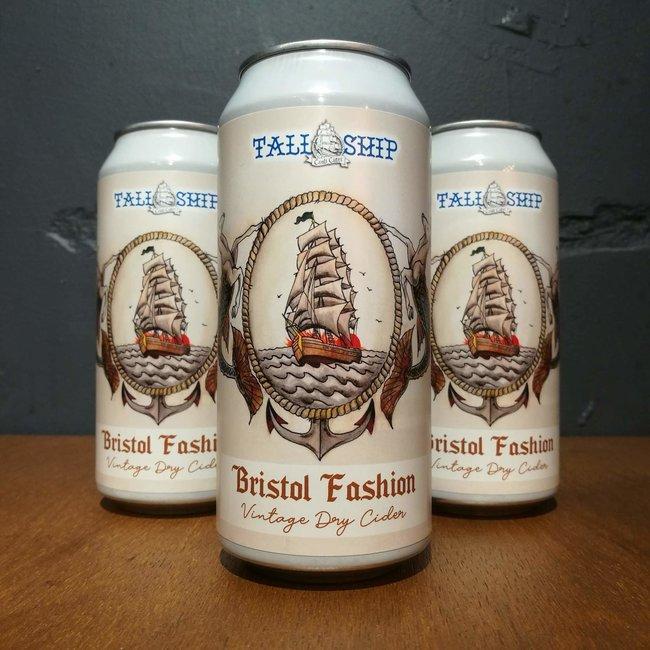 Tall Ship Craft Cider: Bristol Fashion