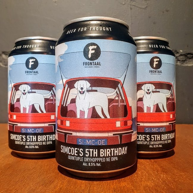 Frontaal: Simcoe 5th Birthday