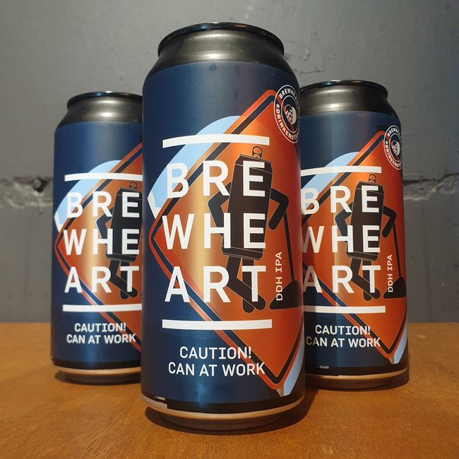 Brewheart - Caution! Can At Work