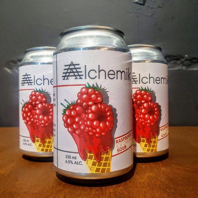 Alchemik:  Raspberry Ice Cream Sour