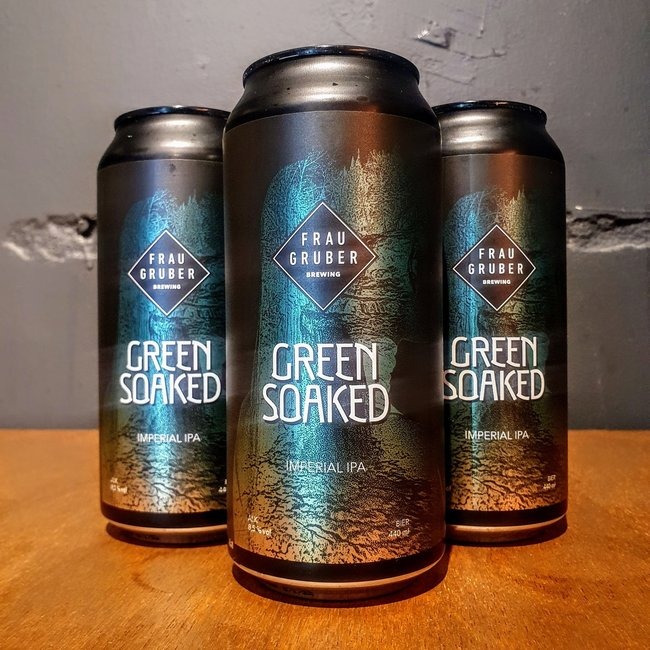 Frau Gruber- Green Soaked