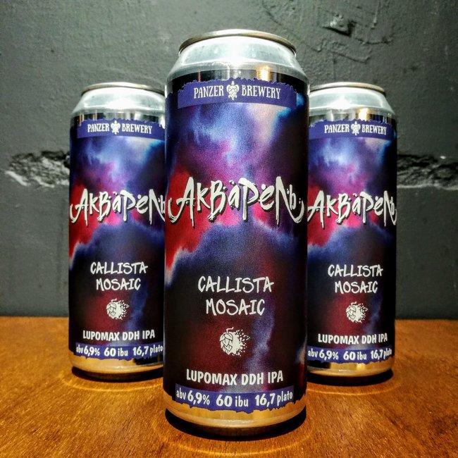 Panzer Brewery - Aquarelle: Callista + Mosaic Lupomax