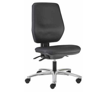 Throna Cleanroom stoel - wielen - hoogte 42/55 cm (Pro)