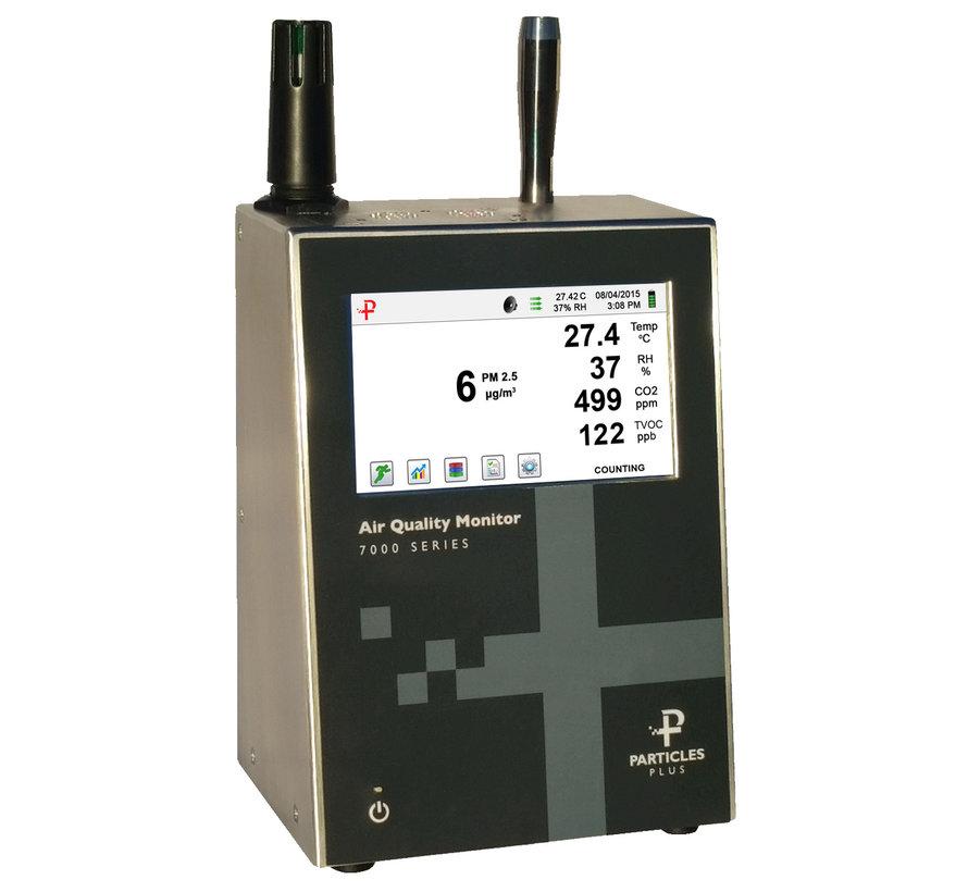 7302-AQM luchtkwaliteit monitor (fijnstof, CO2, temp, RV en TVOC)