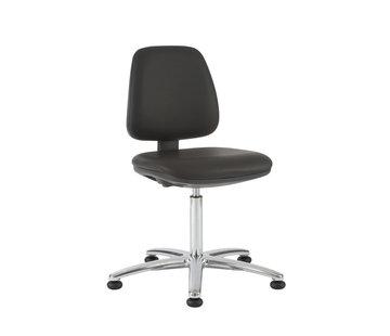Throna Cleanroom - stoel - glijders - hoogte 50/85 cm (Standaard)