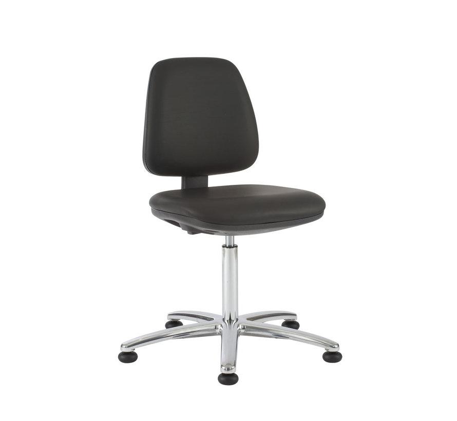 Cleanroom - stoel - glijders - hoogte 50/85 cm