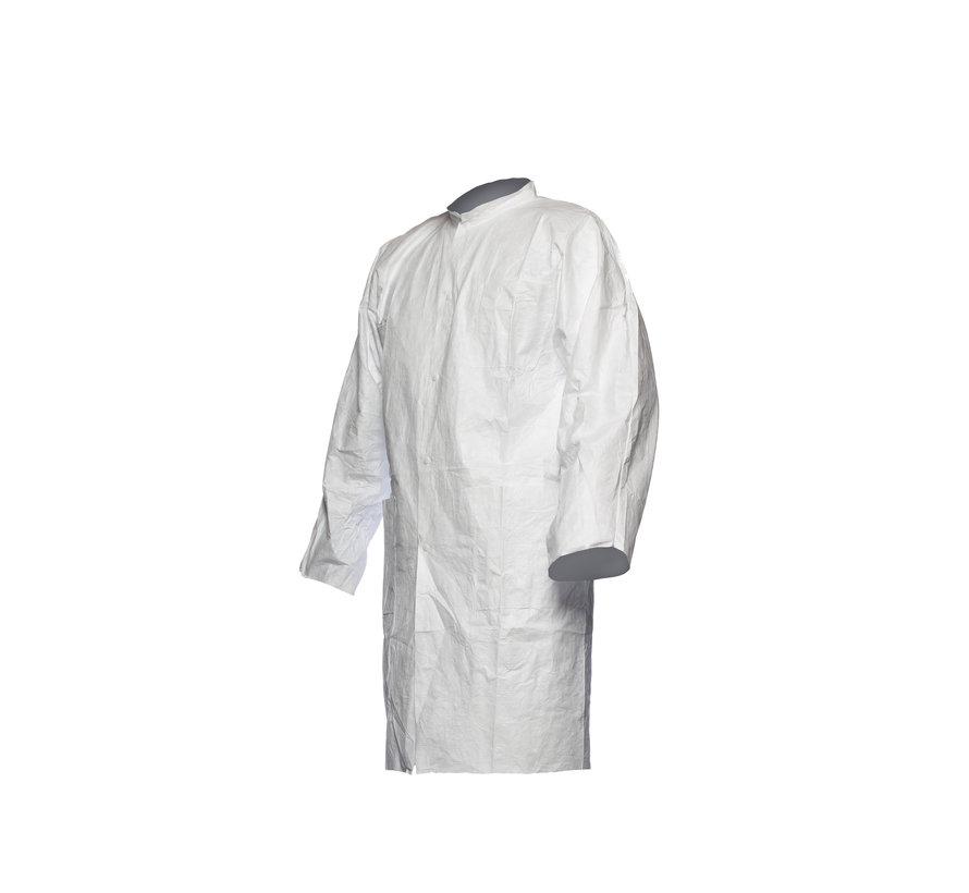 DuPont Tyvek 500 labjas met drukknopen en zakken - PL309