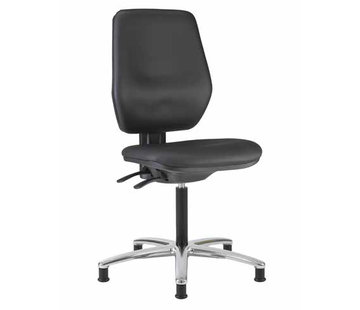 Throna Cleanroom stoel - hoogte 50/85 cm (Pro)