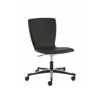 Throna Cleanroom stoel- HEPA filter - wielen - hoogte 43/56 cm (HEPA)