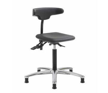 Throna Cleanroom - stoel - glijders - hoogte 50/85 cm