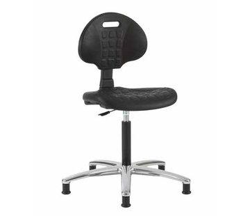 Throna Cleanroom - stoel - glijders - hoogte 49/84 cm