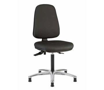 Throna Cleanroom - stoel - Glijders- hoogte 50/85 cm (Standaard)
