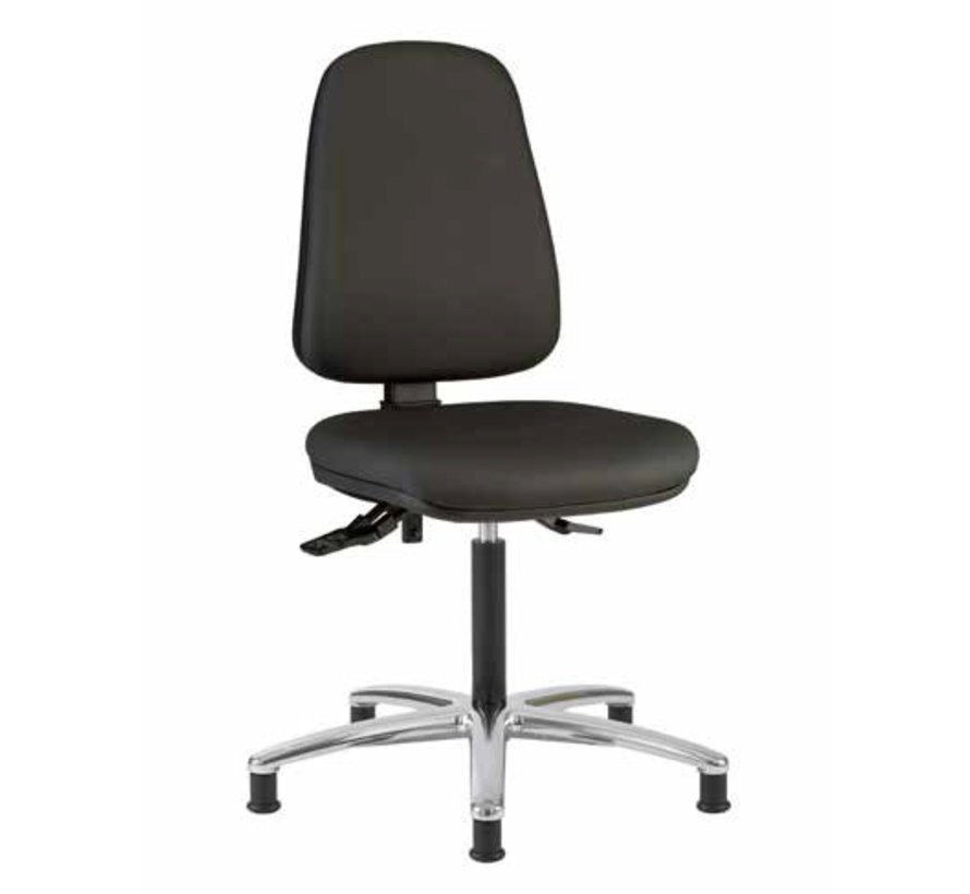 Cleanroom - stoel - Glijders- hoogte 50/85 cm