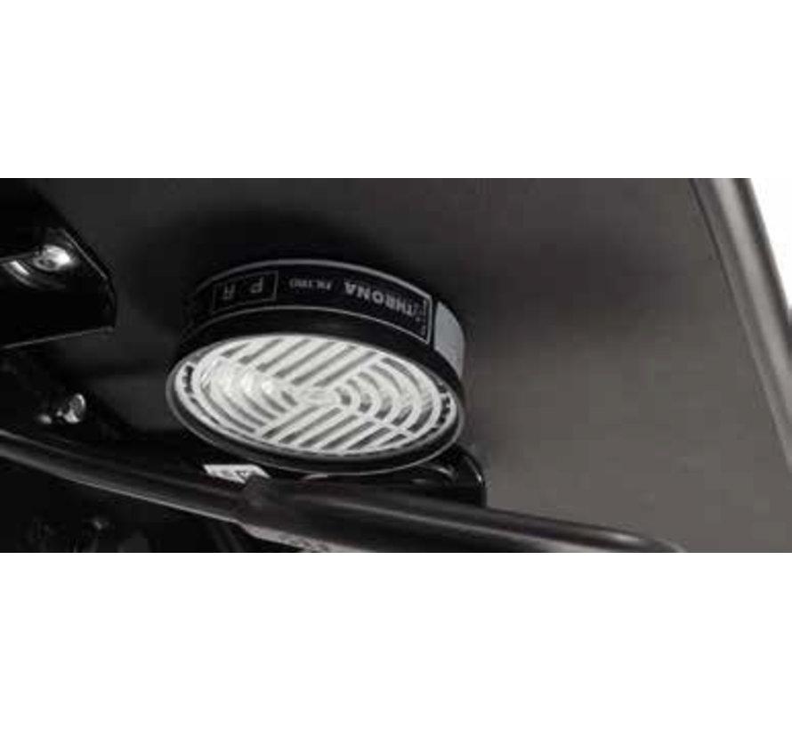 Cleanroom stoel - ESD - HEPA filter - wielen - hoogte 44/87 cm