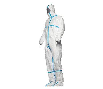 DuPont Tyvek 600 plus wit met sokken