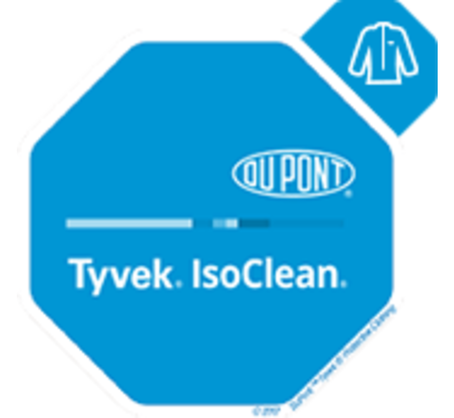 DuPont Tyvek IsoClean labjas (steriel) - IC270BWHMS