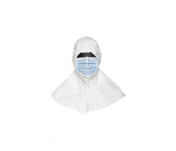 DuPont Tyvek IsoClean hoofdkap met masker  (steriel)