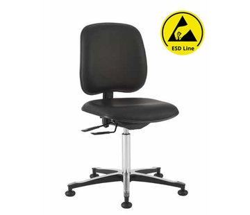 Throna Cleanroom stoel - ESD - HEPA filter - hoogte 44/87 cm (HEPA)