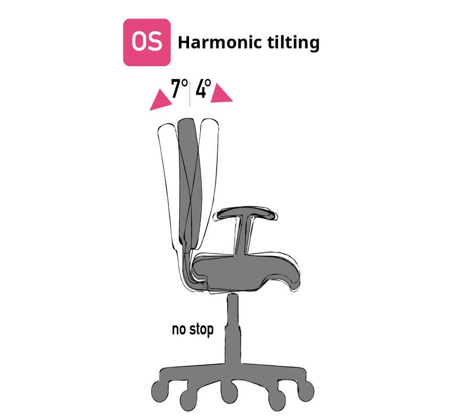 Cleanroom stoel- HEPA filter - wielen - hoogte 43/56 cm (HEPA)
