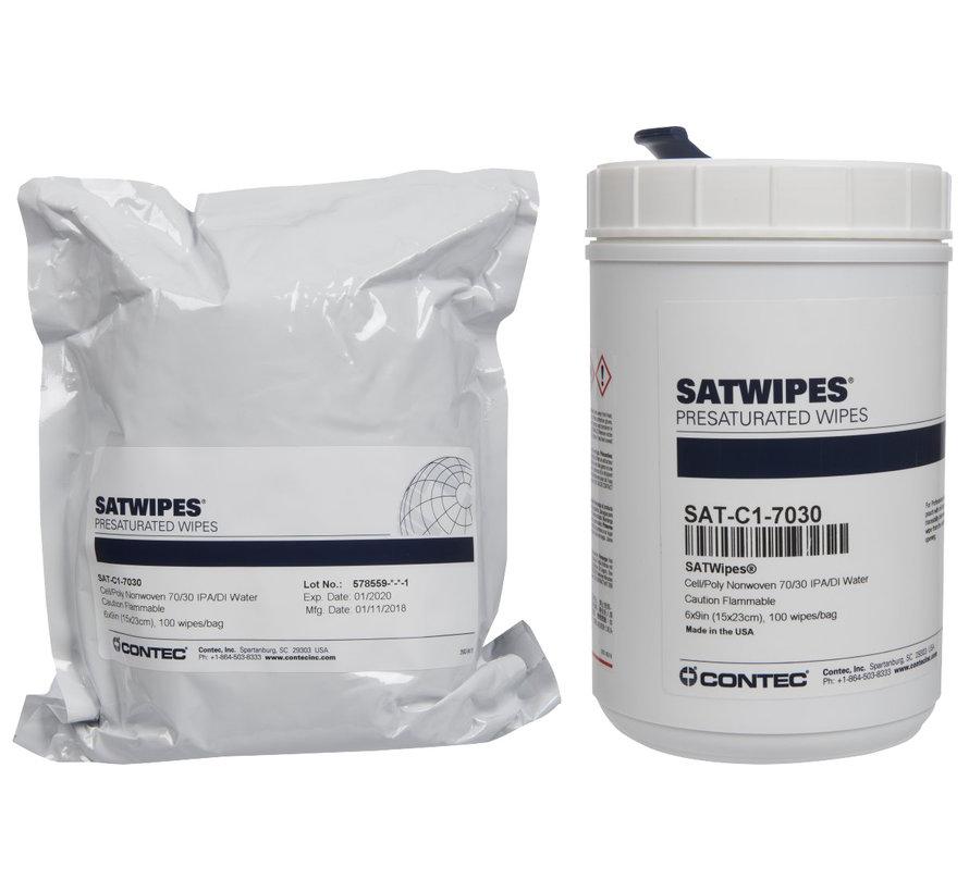 Contec SAT-C1-7030 geïmpregneerde doeken 55% cellulose en 45 % polyester