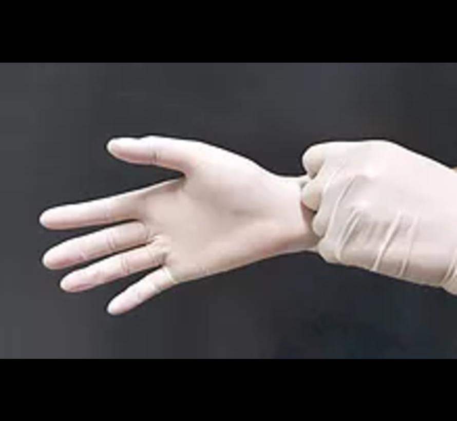 Cleanroom nitril handschoen