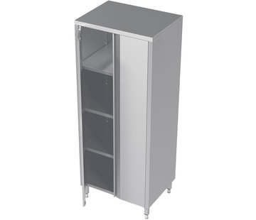 ProCleanroom RVS hoge cleanroom kast met draaideuren