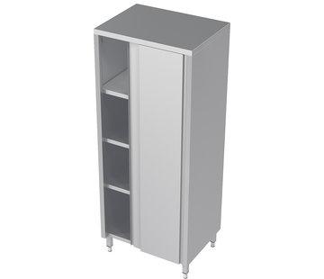 ProCleanroom RVS hoge cleanroom kast met schuifdeuren