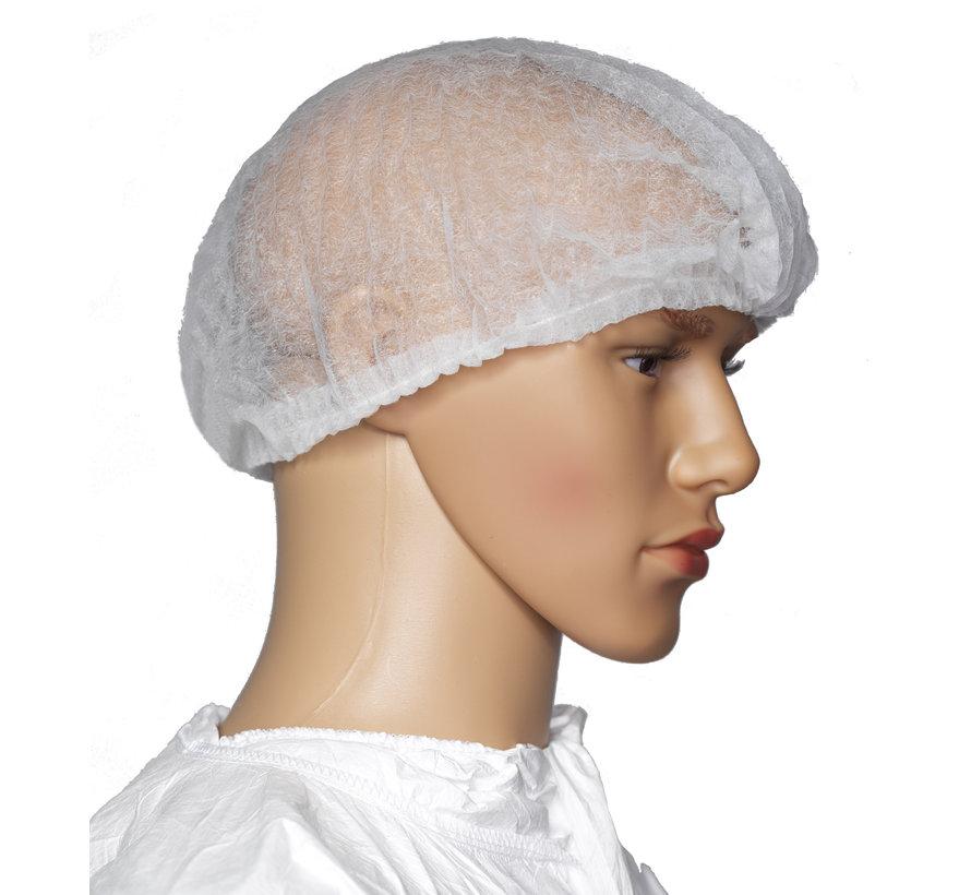 Cleanroom haarnetje type  bouffant cap