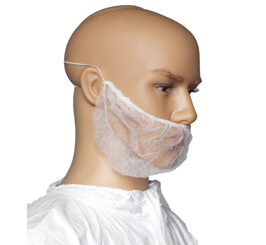 Cleanroom baardnetje type 'headties'
