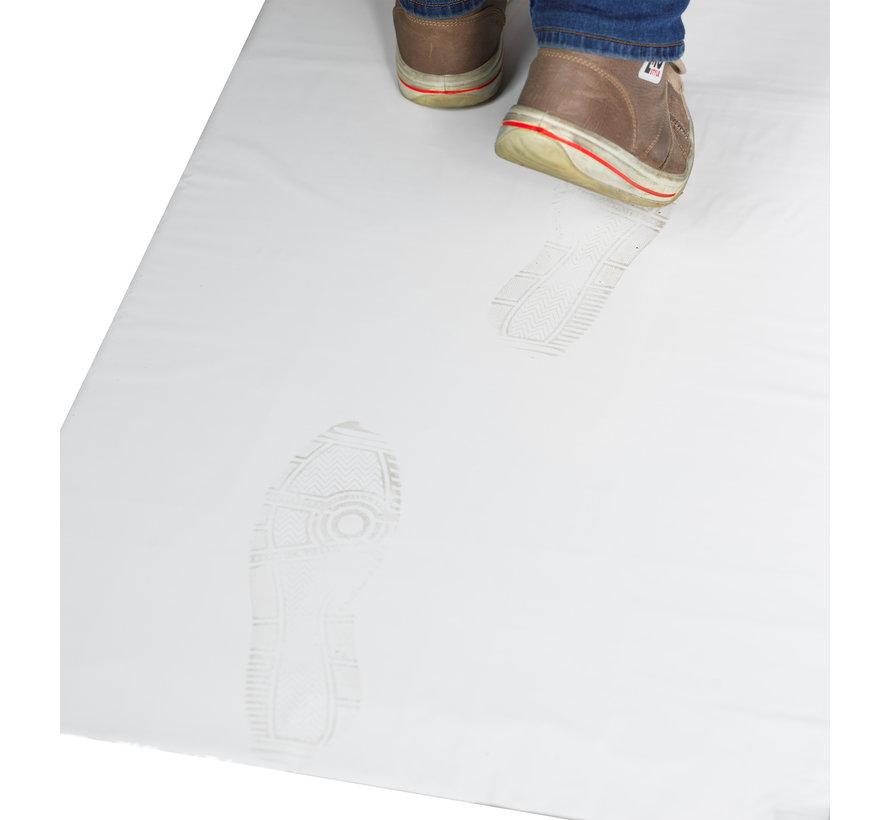 Cleanroom kleefmat 66 x 115 cm wit  (10 stuks per doos)