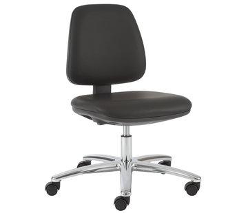 Throna Cleanroom stoel - wielen - hoogte 42/57 cm (Standaard)