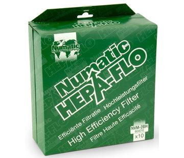 Numatic Stofzakken HEPA stofzuigers