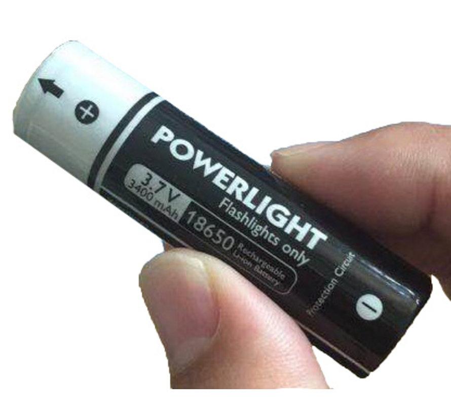 3400mAh oplaadbare batterijen PDL-Powerlight