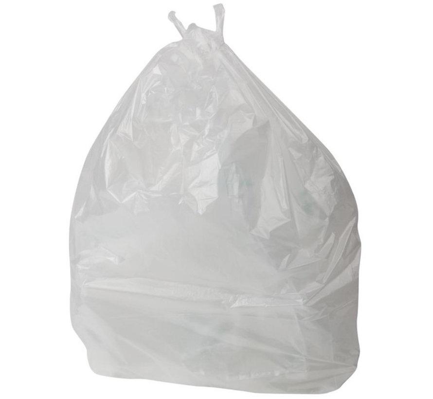 Jantex afvalzakken 50 Liter wit (1000 stuks)