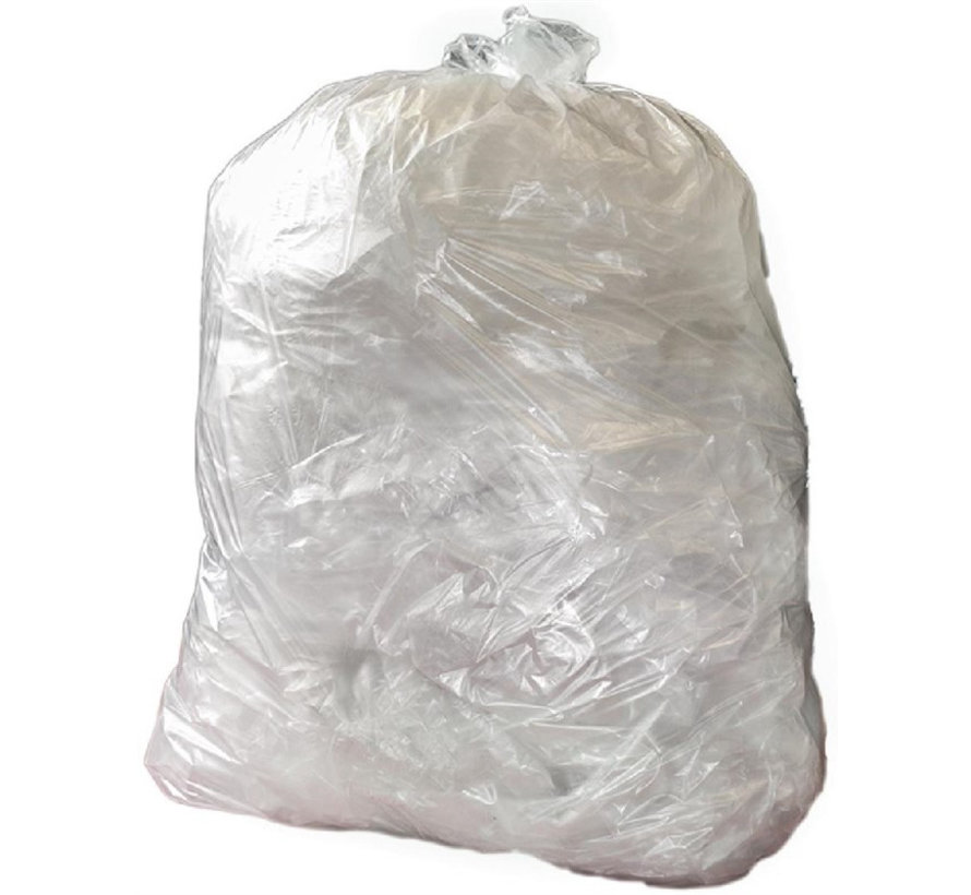 Jantex afvalzakken 90 Liter transparant (200 stuks)