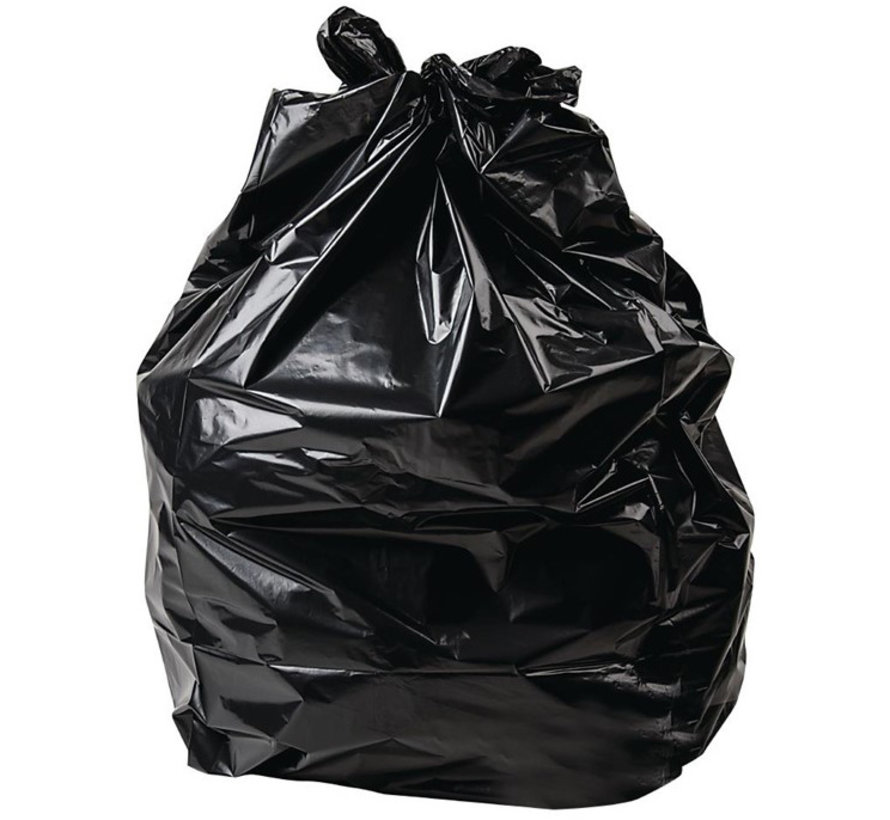 Jantex afvalzakken 25 Liter zwart (500 stuks)