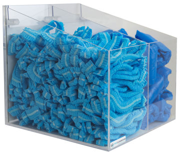 ProCleanroom Consumable dispenser 2 vakken