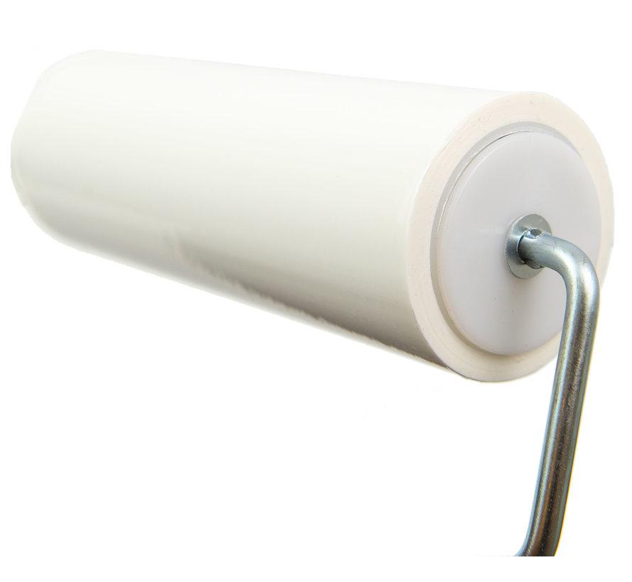 Cleanroom kleefroller 15 cm breed (10 rollen + 2 houders)