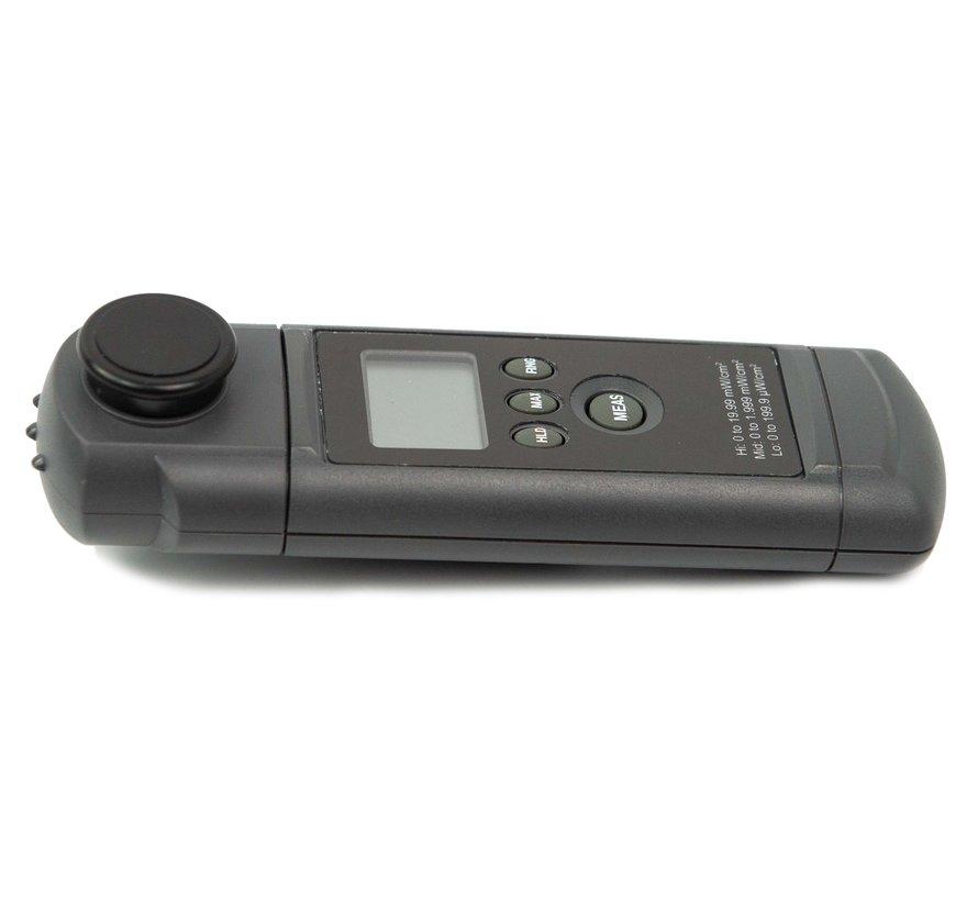 UV-A intensiteit meter voor UV-A inspectielampen